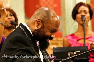 Allyn Johnson, piano with Lori Williams and Tabitha Pearson, vocals