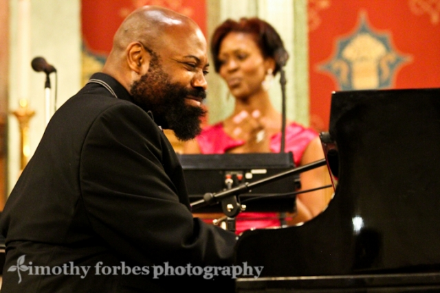 Allyn Johnson, piano with Tabitha Pearson, vocals