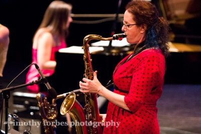 Leigh Pilzer, saxophone with Amy K. Bormet, piano