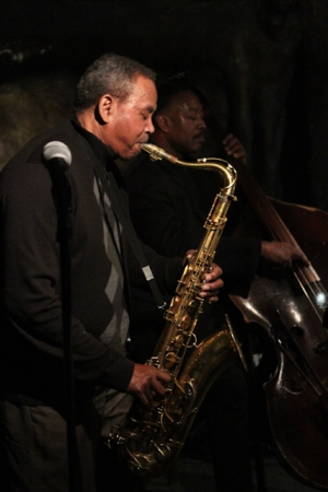 Odean Pope, saxophone with Lee Smith, bass