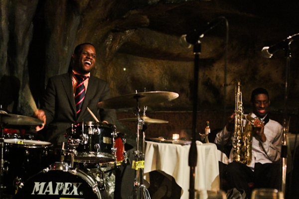 Quincy Phillips, drums with Quamon Fowler, tenor saxophone