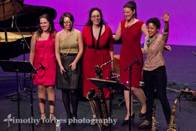 Kimberly Thompson and the Washington Women in Jazz Festival All-Stars