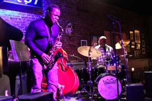 Antonio Parker, saxophone and Keith Killgo, drums