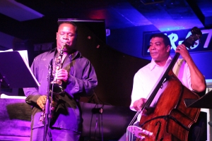 Antonio Parker, saxophone and Kent Miller, bass