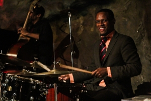 Quincy Phillips, drums with Kris Funn, bass
