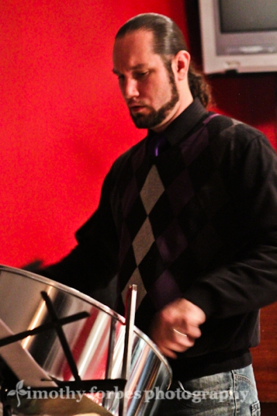 Victor Provost, steel pan drum