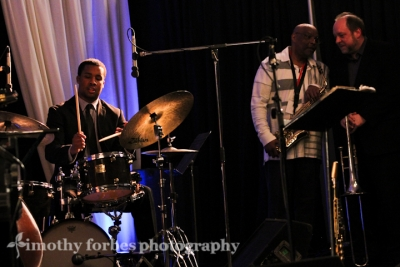 Billy Williams, drums with Joe Ford and Steve Davis